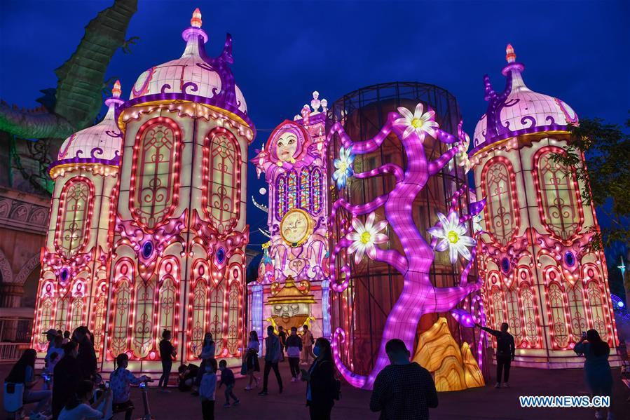 CHINA-JILIN-CHANGCHUN-LANTERN SHOW (CN)