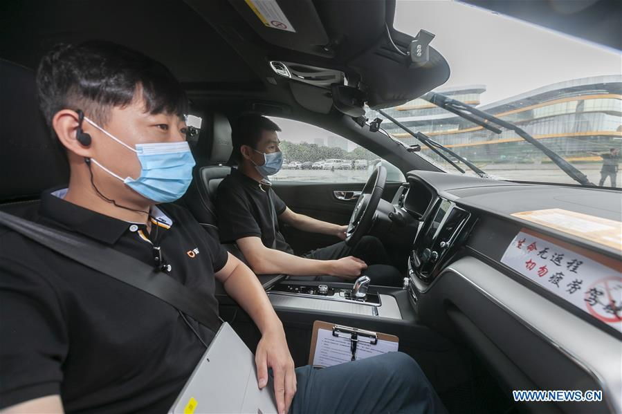 CHINA-SHANGHAI-SELF-DRIVING RIDE SERVICE (CN)