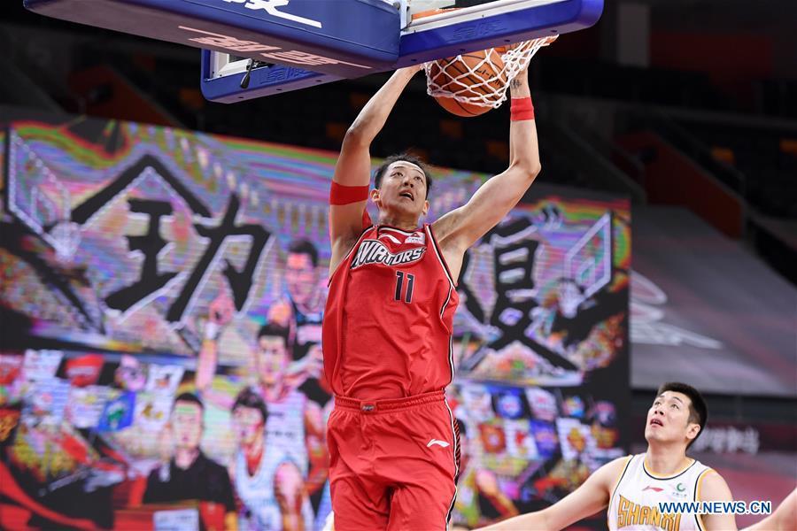 (SP)中国-东莞-篮球-CBA联赛-深圳VS山西(CN)
