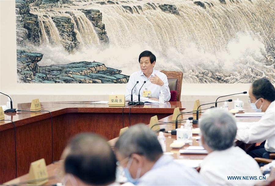CHINA-BEIJING-LI ZHANSHU-MEETING (CN)