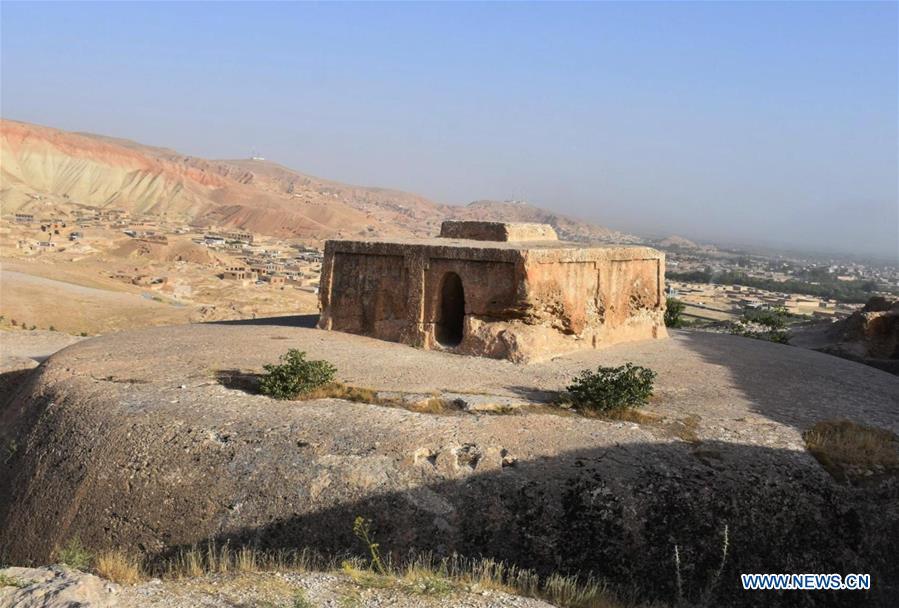 AFGHANISTAN-BALKH-HISTORICAL MONUMENTS-RESTORATION
