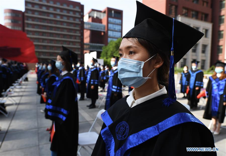 CHINA-BEIJING-RENMIN UNIVERSITY OF CHINA-COMMENCEMENT CEREMONY(CN)