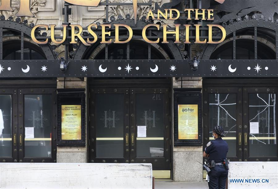 U.S.-NEW YORK-BROADWAY PERFORMANCES-SUSPENDED