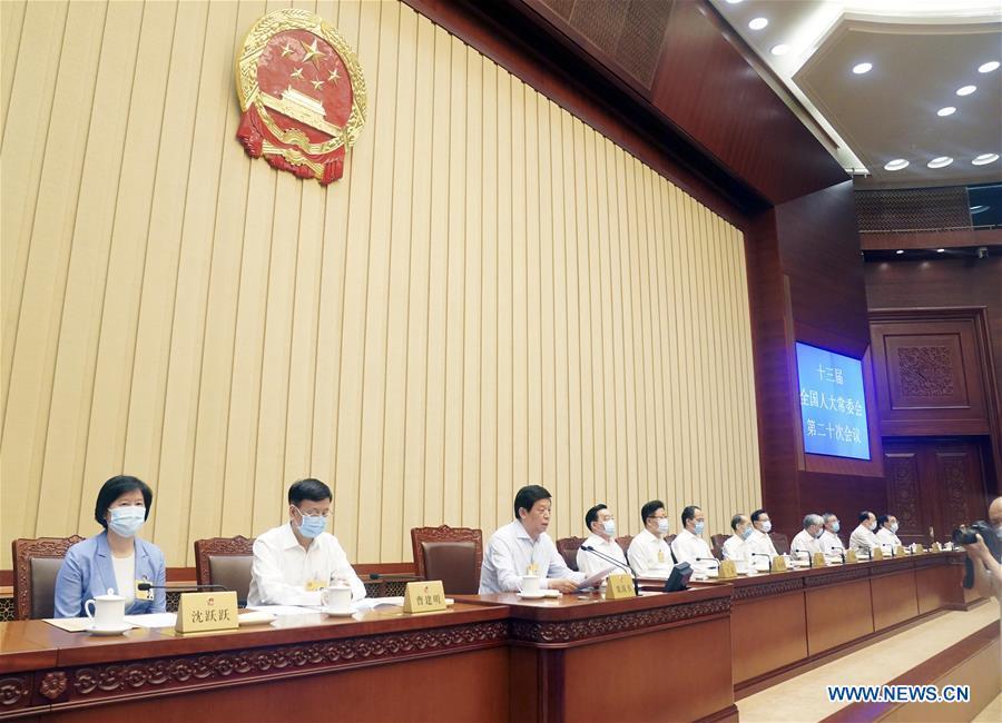 CHINA-BEIJING-NPC-HKSAR-NATIONAL SECURITY-LAW (CN)