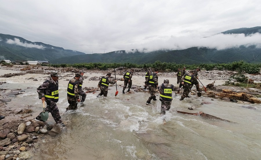 14 killed, 8 missing as heavy rainstorm lashes China's Sichuan - Xinhua | English.news.cn