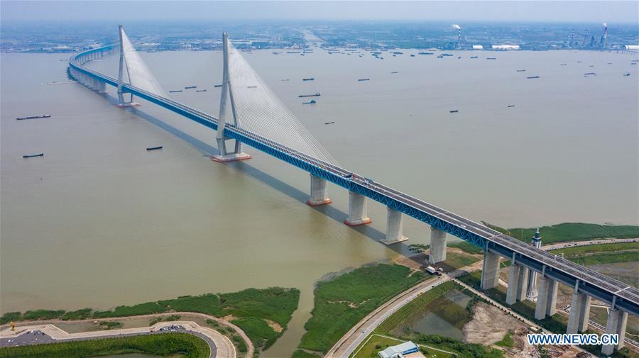 CHINA-JIANGSU-YANGTZE RIVER-BRIDGE (CN)