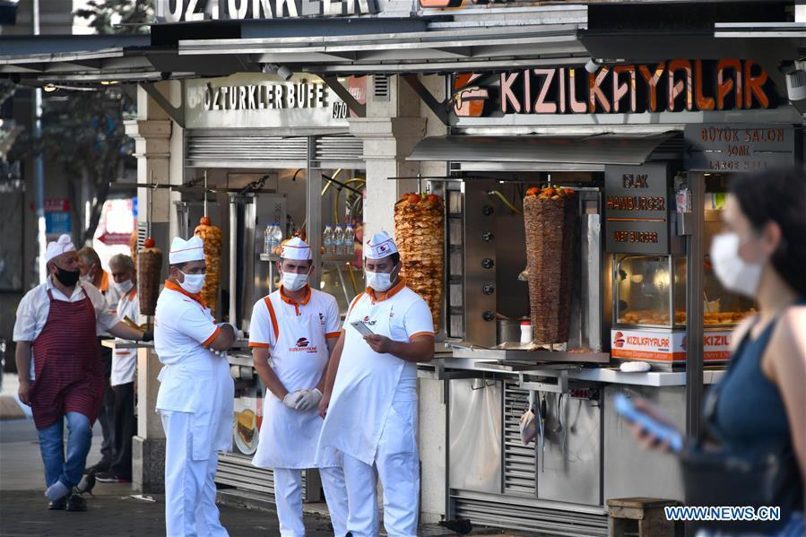 TURKEY-ISTANBUL-COVID-19-CASES