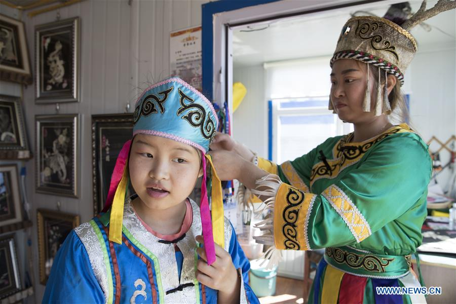 CHINA-HEILONGJIANG-HEZHE ETHNIC GROUP (CN)