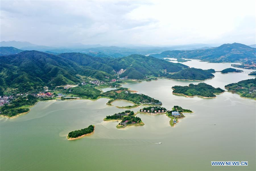 CHINA-FUJIAN-GUTIAN-CUIPING LAKE-SCENERY (CN)