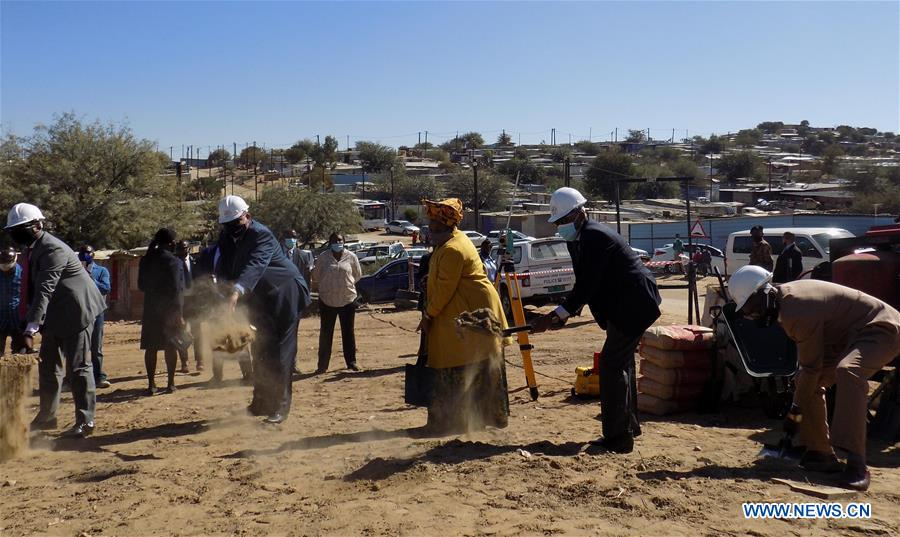 NAMIBIA-WINDHOEK-HOUSING PROJECT-LAUNCH EVENT