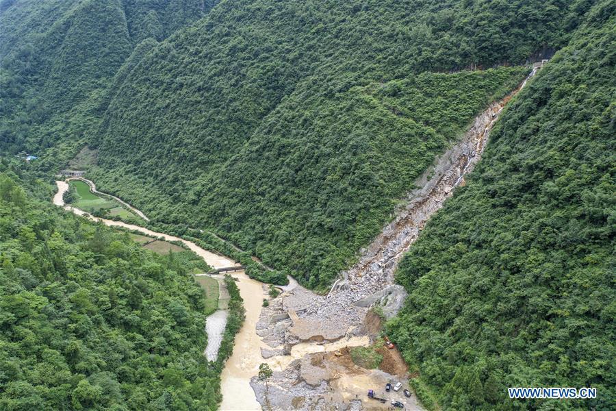 CHINA-CHONGQING-QIANJIANG-FLOOD-AFTERMATH (CN)