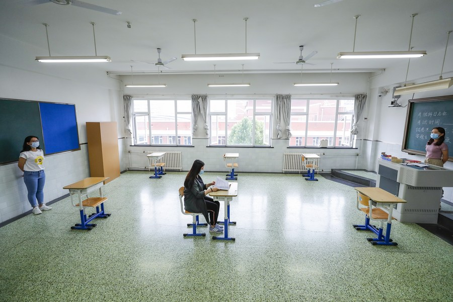 Strict Anti Epidemic Measures For China S College Entrance Exam Xinhua English News Cn