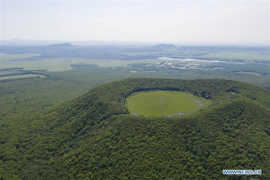 CHINA-HEILONGJIANG-VOLCANO-LAKE(CN)