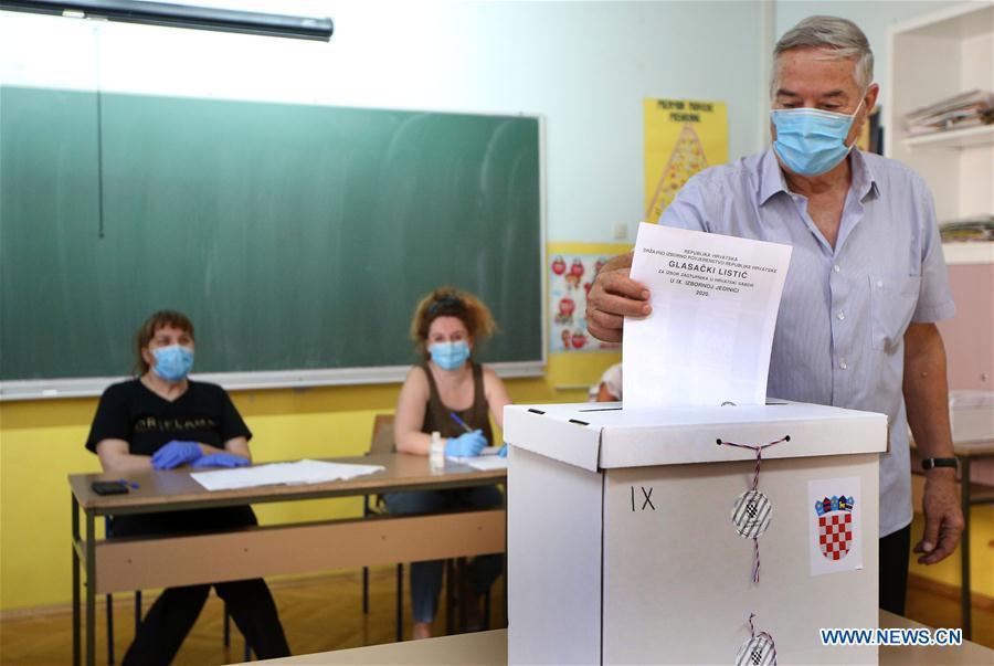 CROATIA-ZAGREB-PARLIAMENTARY ELECTIONS