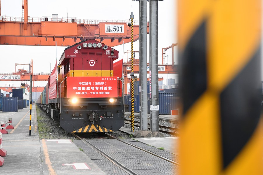 China invests 200 mln yuan to improve China-Europe rail network