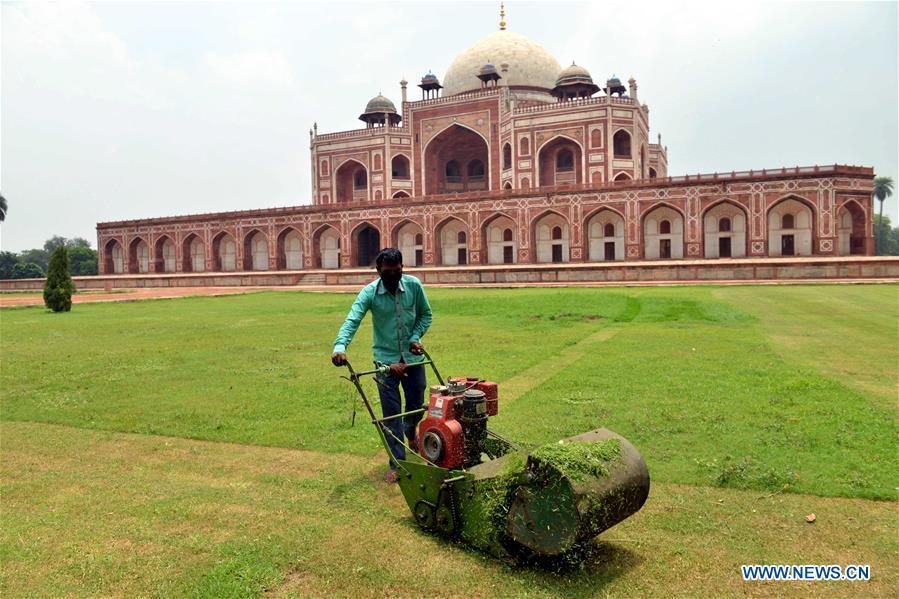 INDIA-NEW DELHI-HUMAYUN'S TOMB-REOPENING