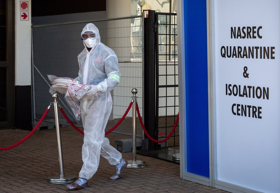 S. Africa's confirmed COVID-19 cases surpass 200,000 - Xinhua | English.news.cn