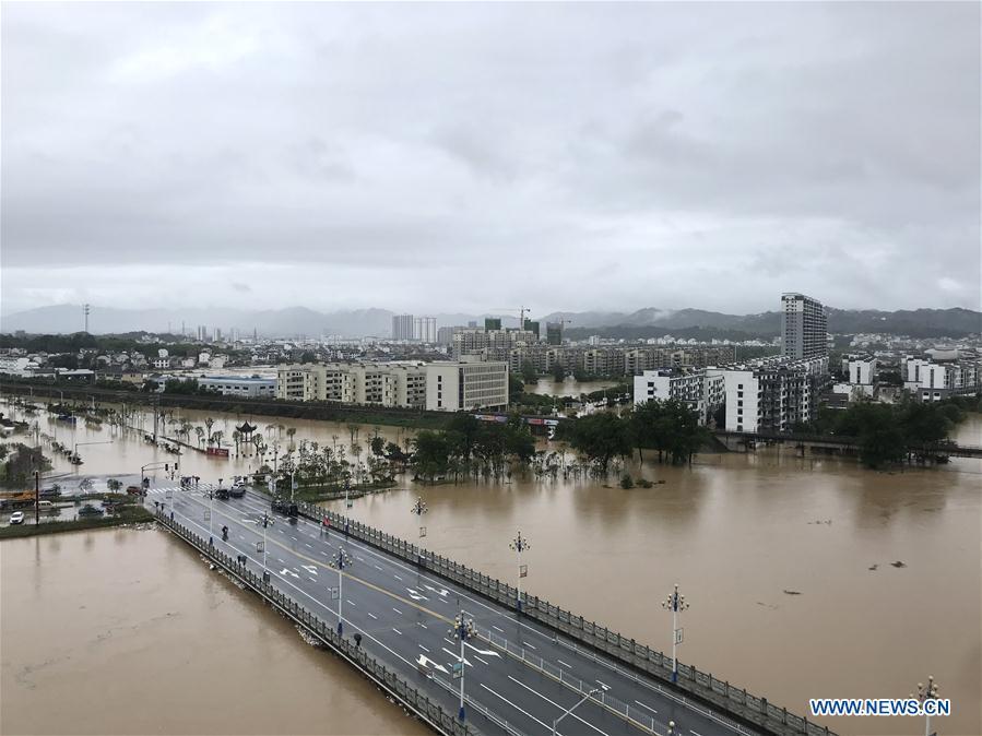 CHINA-ANHUI-SHEXIAN-FLOOD (CN)