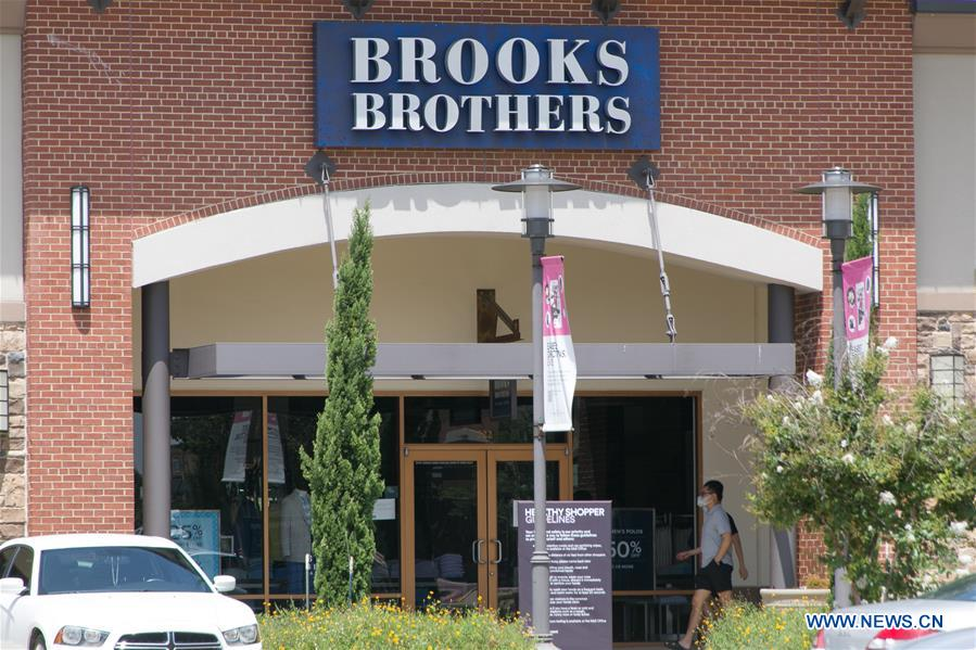 U.S.-TEXAS-BROOKS BROTHERS-BANKRUPTCY PROTECTION