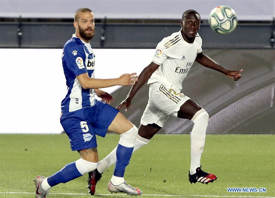 Spanish League Match Real Madrid Vs Alaves Xinhua English News Cn