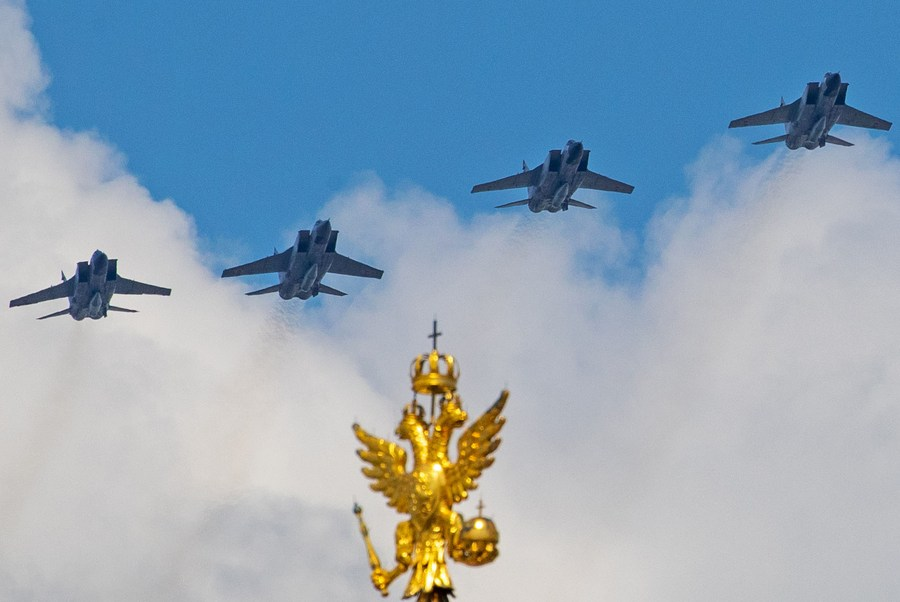 Russian jets intercept U.S. spy plane over Sea of Japan - Xinhua | English.news.cn