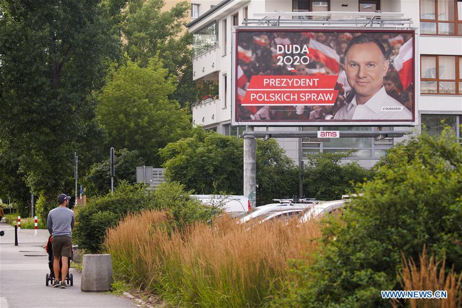 Duda Marginally Ahead In Poland S Presidential Run Off Exit Poll Xinhua English News Cn