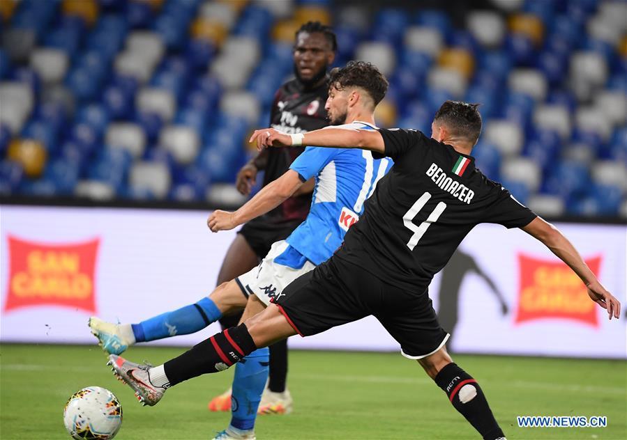 (SP)ITALY-NAPLES-FOOTBALL-SERIE A-NAPOLI VS AC MILAN