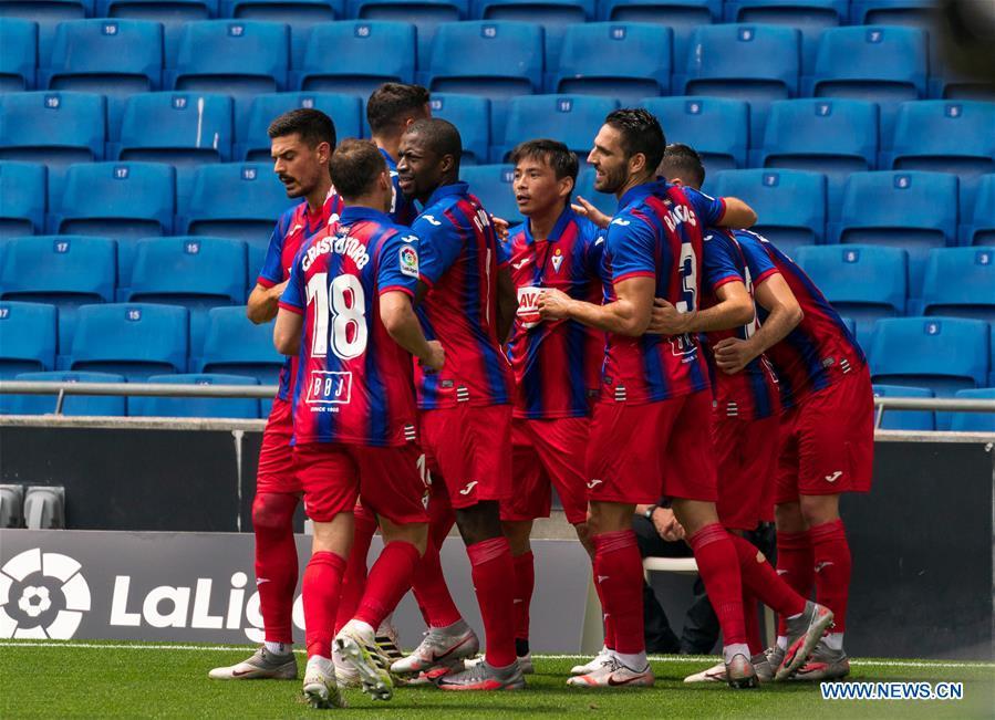 (SP)SPAIN-BARCELONA-FOOTBALL-SPANISH LEAGUE-ESPANYOL VS EIBAR