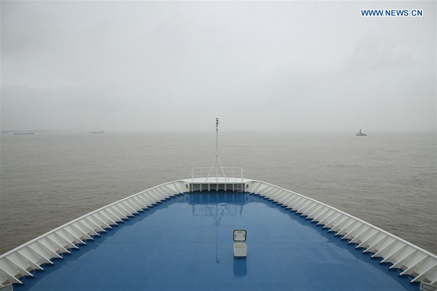 Chinese tracking ship Yuanwang-6 sets sail on monitoring missions - Xinhua | English.news.cn