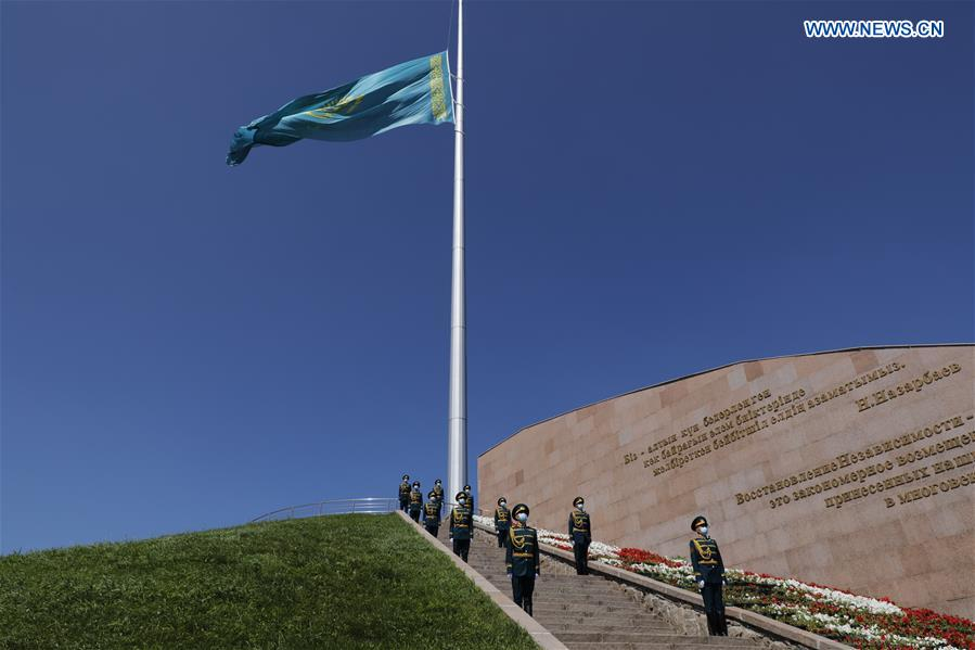 KAZAKHSTAN-NUR-SULTAN-NATIONAL MOURNING DAY-COVID-19