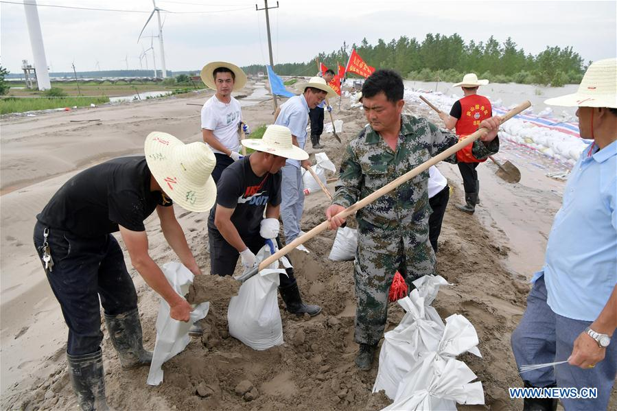 CHINA-JIANGXI-LIUZHOU VILLAGE-FLOOD CONTROL-CPC BRANCH SECRETARY (CN)
