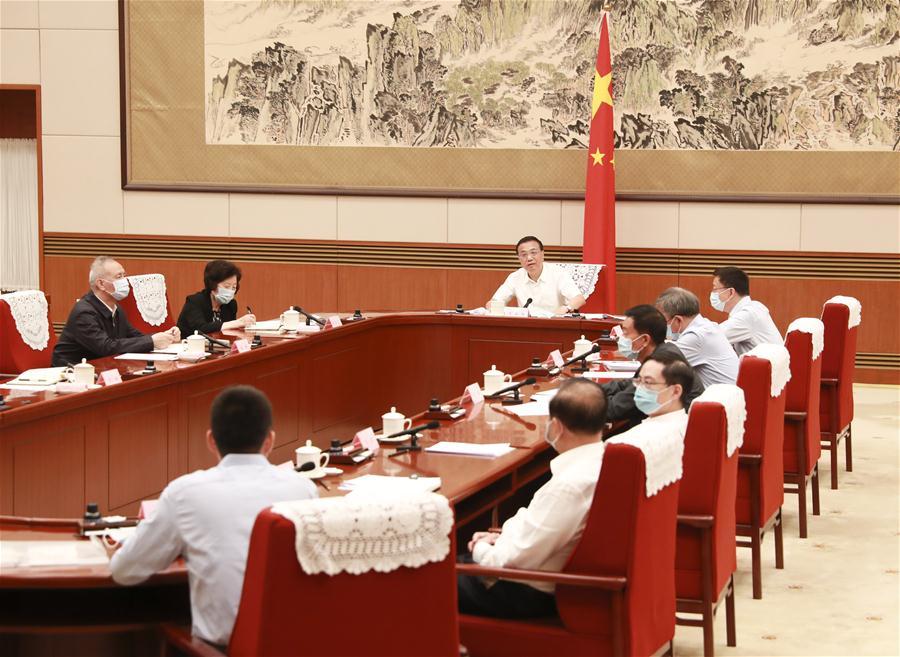CHINA-BEIJING-LI KEQIANG-ECONOMIC SITUATION-SYMPOSIUM (CN)