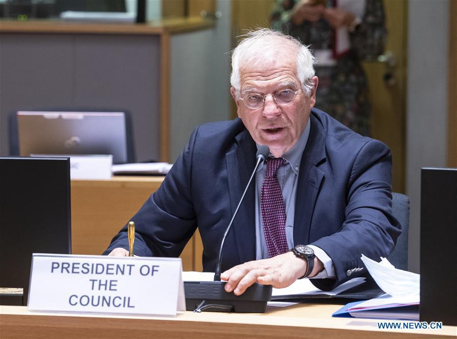 BELGIUM-BRUSSELS-EU-FOREIGN AFFAIRS COUNCIL