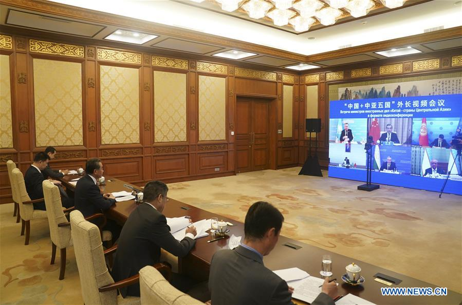 CHINA-BEIJING-CENTRAL ASIA-FM-MEETING (CN)