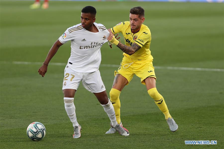 Spanish La Liga Match Real Madrid Vs Villareal Xinhua English news cn