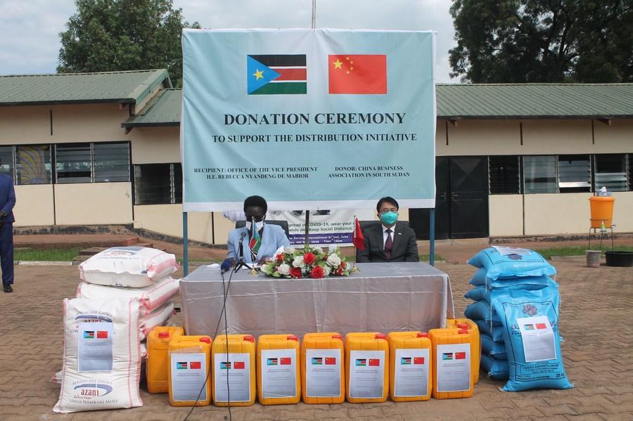 China donates 58 oxygen concentrators for COVID-19 response in South Sudan