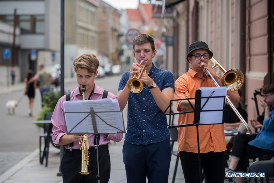 LITHUANIA-VILNIUS-STREET MUSIC DAY