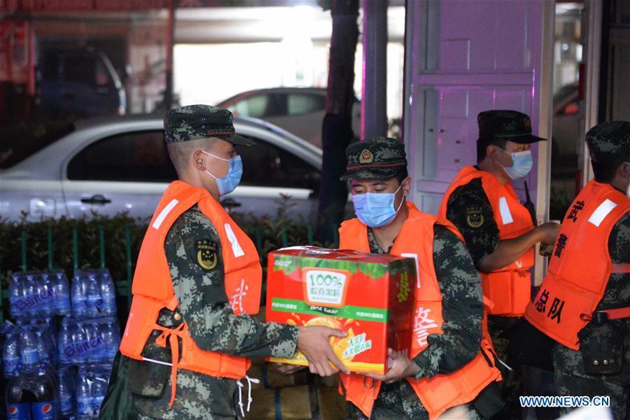 中国-安徽省洪涝灾区疏散(CN)