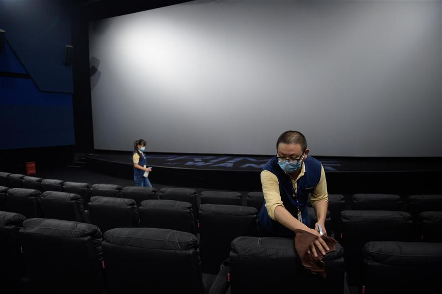 CHINA-BEIJING-CINEMA-REOPENING-PREPARATION (CN)