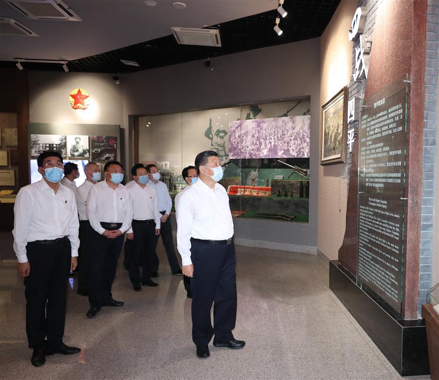 Xi Inspects Northeast China's Jilin Province