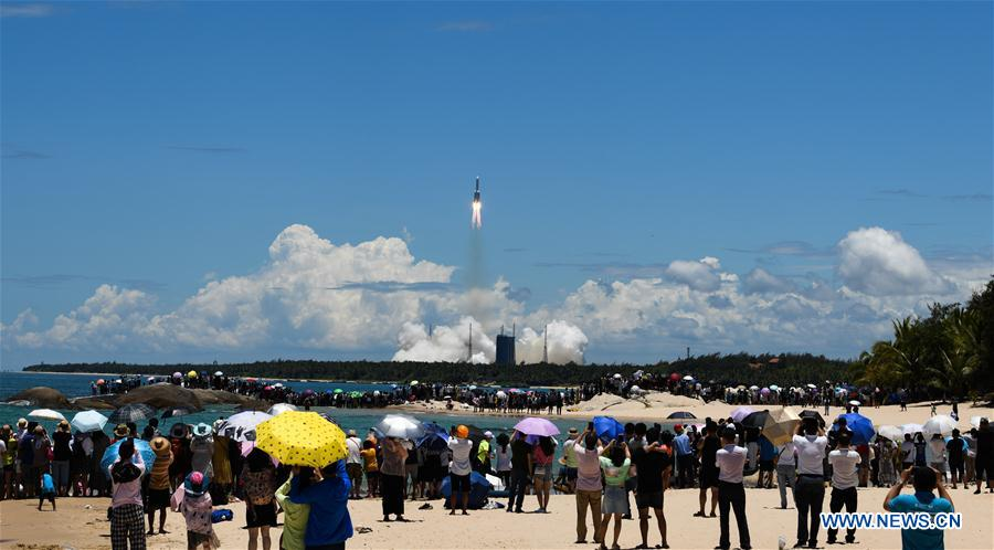 (EyesonSci)CHINA-HAINAN-WENCHANG-LONG MARCH-5 ROCKET-MARS PROBE(CN)
