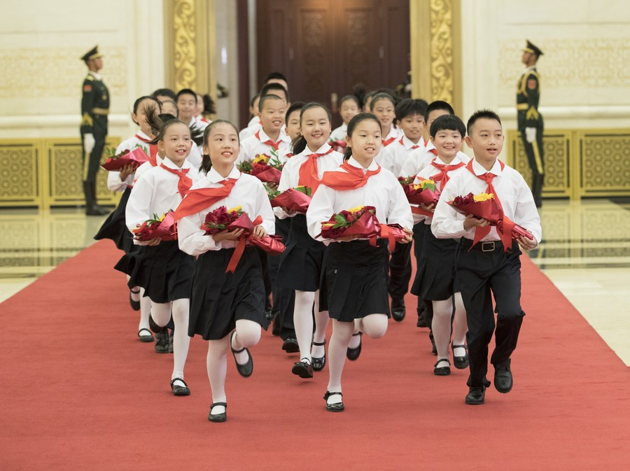 Xi Sends Congratulatory Letter to Chinese Young Pioneers National Congress
