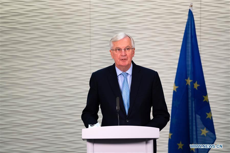 英国伦敦欧盟脱欧交易