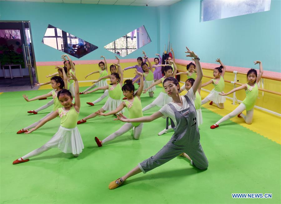 Children Take Part in Various Activities During Summer Vacation