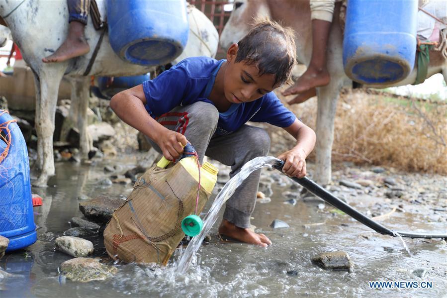 也门哈贾省水资源短缺