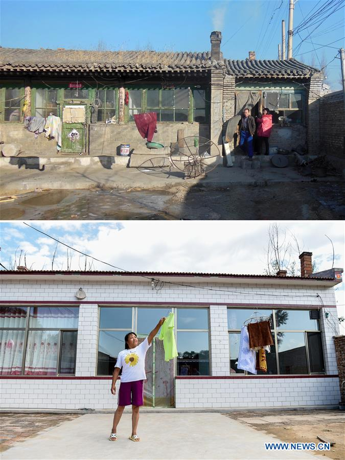 (POVERTY RELIEF ALBUM) CHINA-SHANXI-VILLAGES-CHANGES (CN)