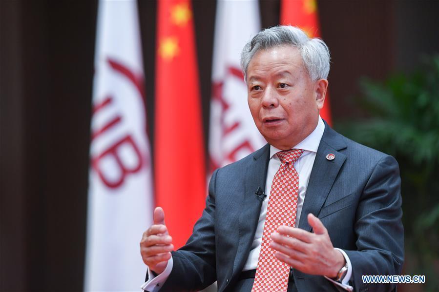 CHINA-BEIJING-AIIB-JIN LIQUN-INTERVIEW (CN)