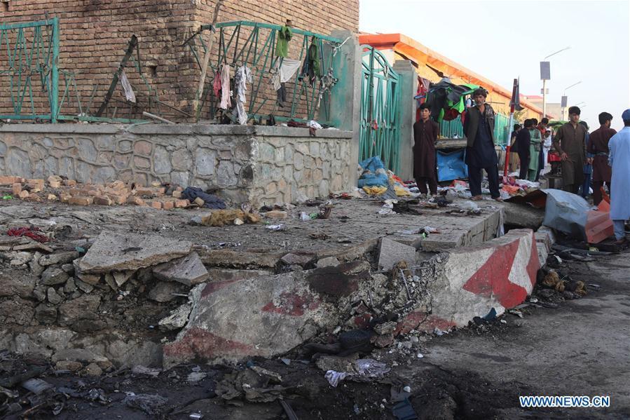 阿富汗-卢旺达炸弹爆炸