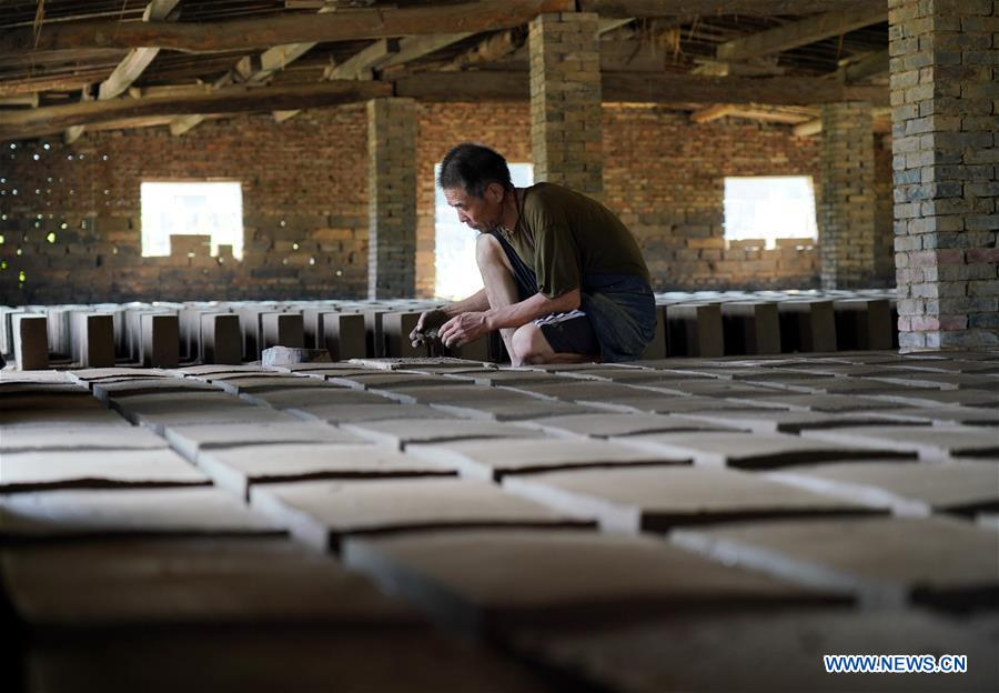 CHINA-HEBEI-BLUE BRICK-FACTORY-ANCIENT ARCHITECTURE(CN)