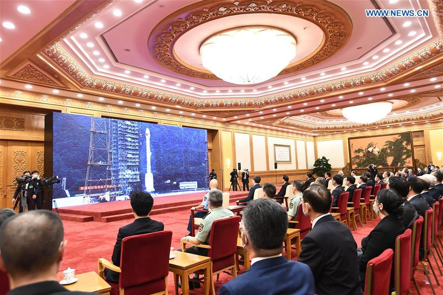 Xi Attends Completion, Commissioning Ceremony for BDS-3 System